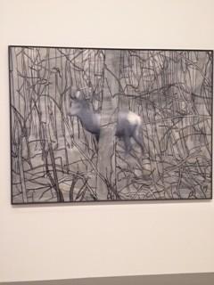 Détail de Biche – Gerhard Richter