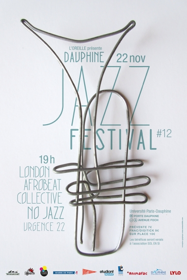 Affiche du dauphine jazz festival #12