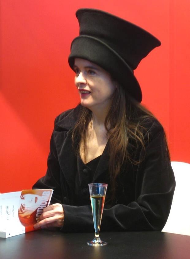 Amélie Nothomb, en vrai.