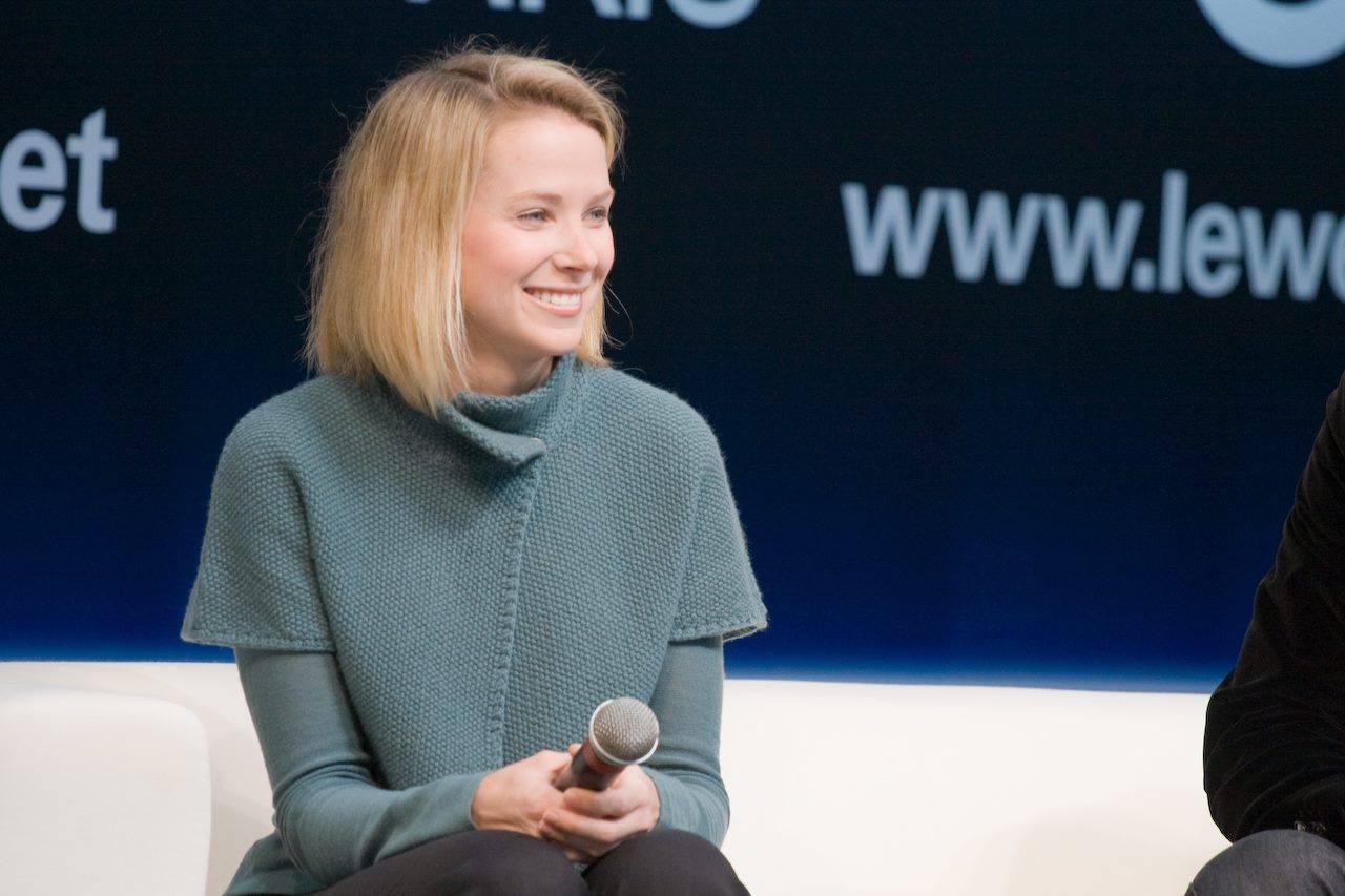 Marissa Meyer, PDG du groupe Yahoo!