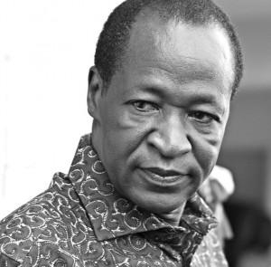Blaise Campaoré, au pouvoir depuis 1987