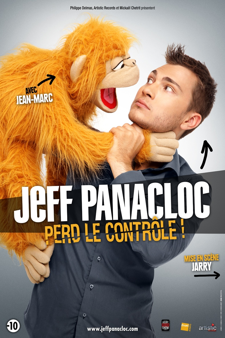 Jeff Panacloc Affiche Streaming One Man Show Spectacle