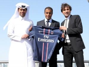 Nasser Al-Khelaifi, Lucas et Leonardo, 2013