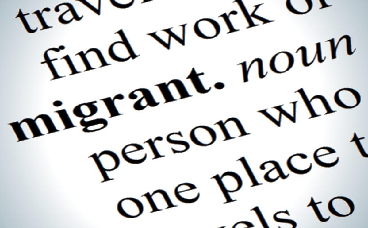 Migrants, mi-hommes:  la déshumanisation verbale