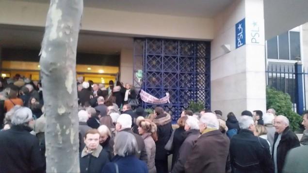 Manifestation à Dauphine