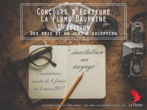 Édition 2017 du Concours d'écriture de l'Université Paris-Dauphine