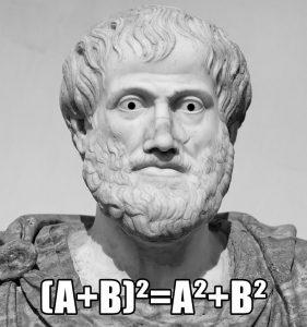 Aristote avait tout faux.