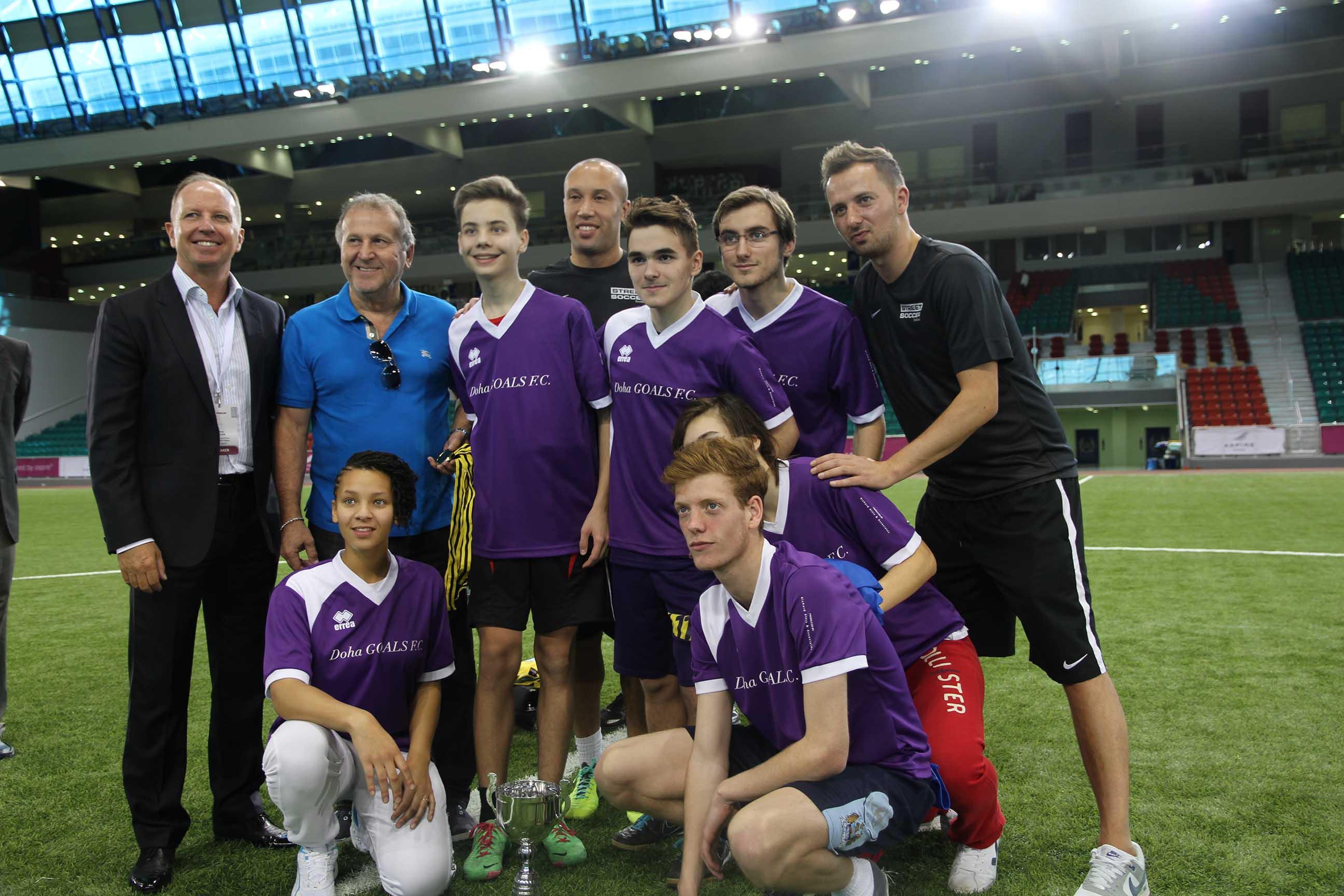«Student Ambassador» aux Doha Goals