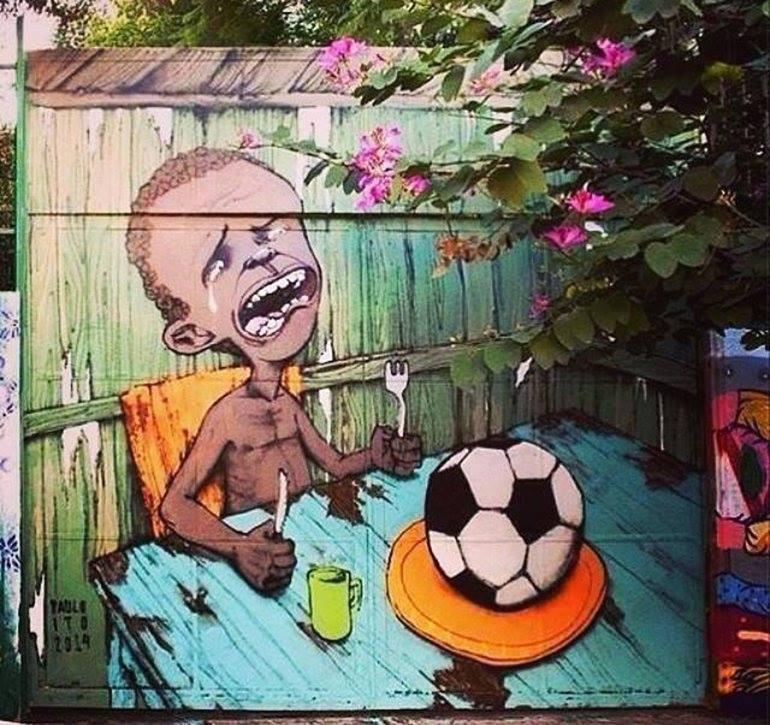 Une coupe du monde, mais pour qui? (Copa para quem)
