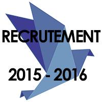 Recrutement 2015 - 2016