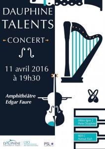 Concert Dauphine Talents: invitation à un voyage musical