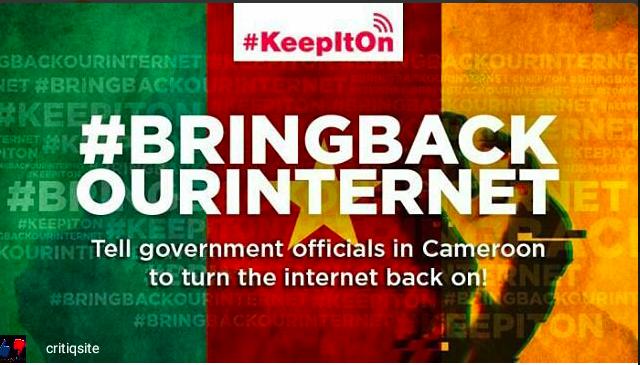 #BringBackOurInternet: l'appel des réfugiés d'Internet camerounais