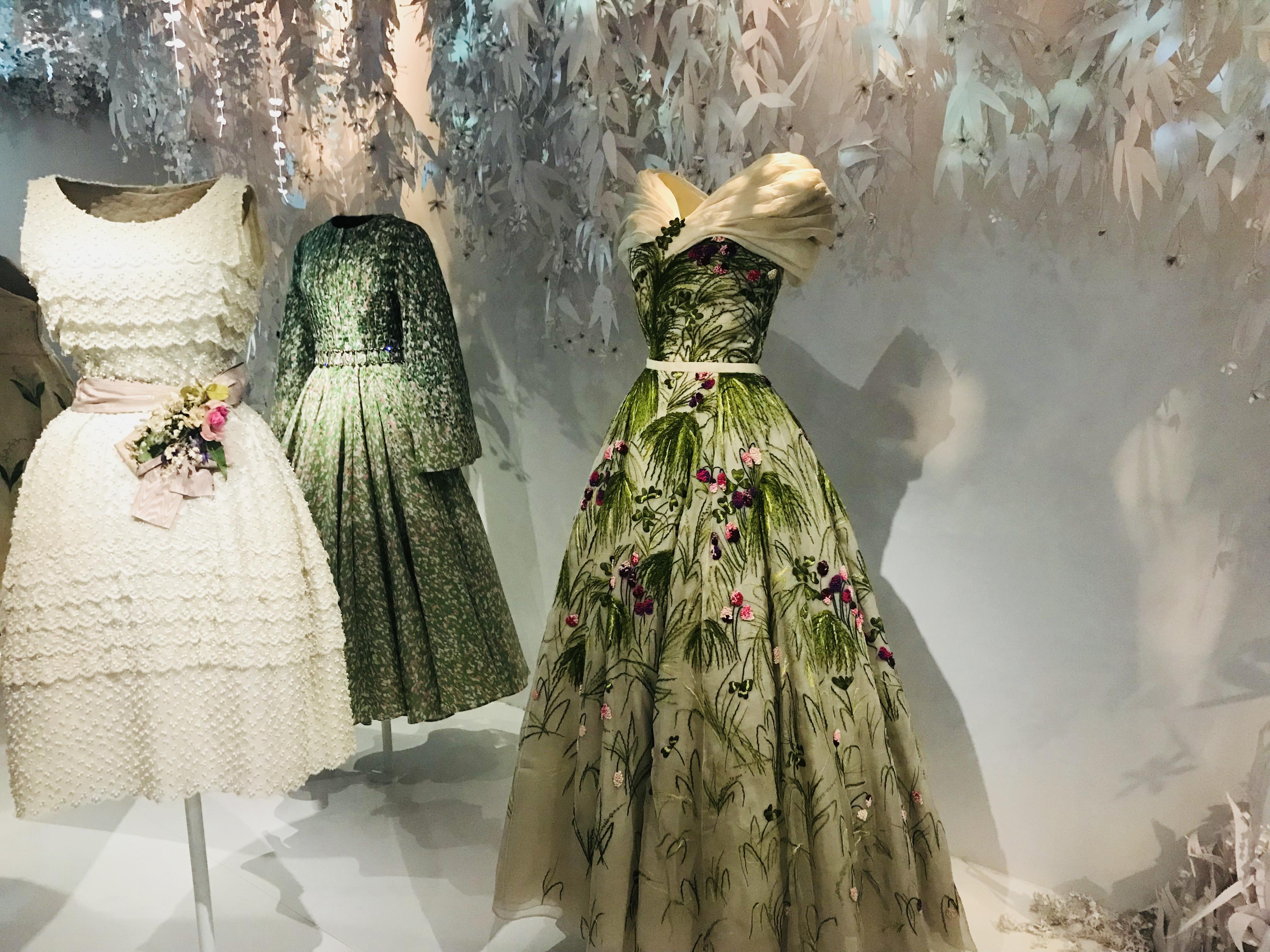 L'Exposition Christian Dior: époustouflante