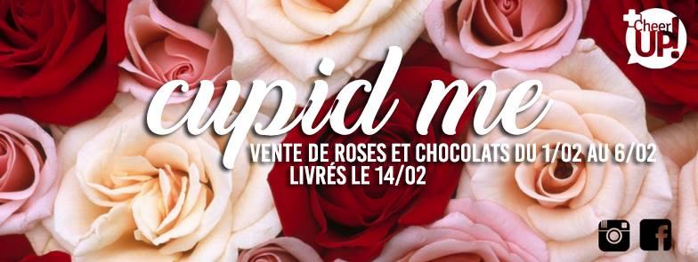 Cupid'Me, la Saint-Valentin solidaire
