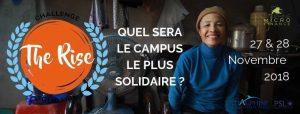 Dauphine Microfinance à la conquête de la 7ème édition du challenge The RISE