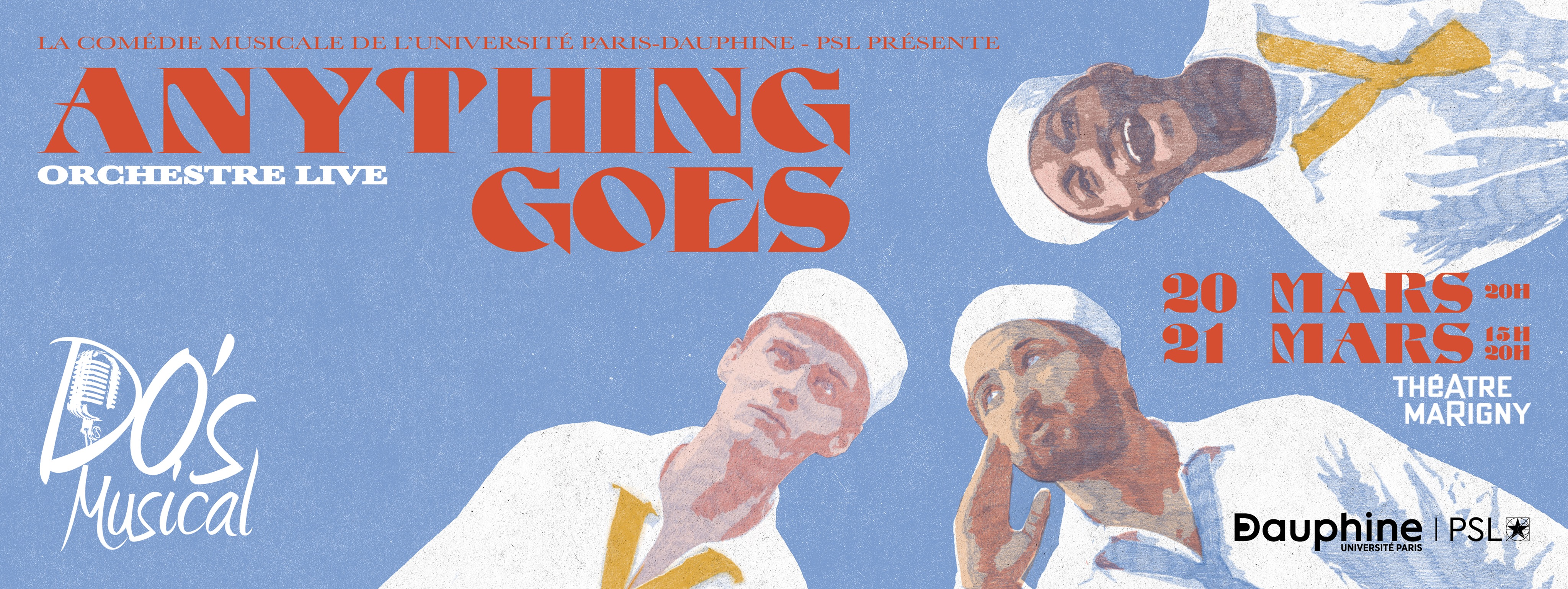 Anything Goes : le Do's s'embarque en mer !