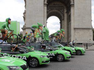 L'impact carbone du Tour de France